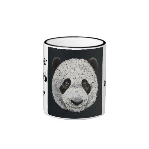 Bear With Me Panda Mug