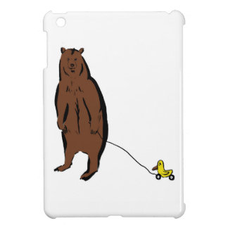 Bear with Rubber Duck Case For The iPad Mini