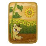 """Bear with Sunflowers MacBook Air Sleeve (13"""")"""
