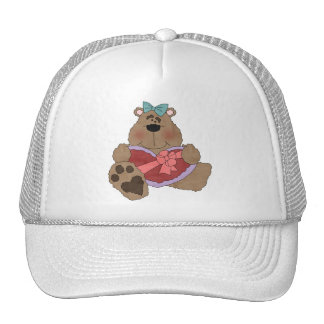 Bear With Valentine Heart T-shirts and Gifts Trucker Hat