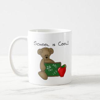 Bear with Writing Board School is Cool Coffee Mug