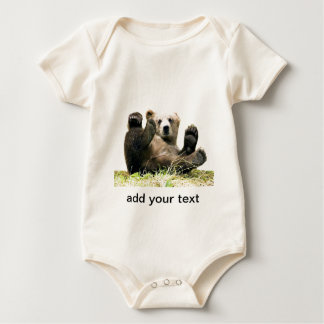 Bear with your quote baby bodysuit