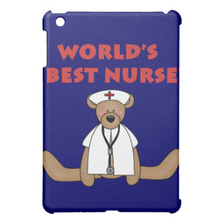 Bear World's Best Nurse and Gifts iPad Mini Covers