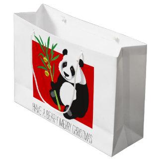 Bear-y Merry Christmas Large Gift Bag