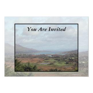 Beara Peninsula, Ireland. Scenic View. 5x7 Paper Invitation Card