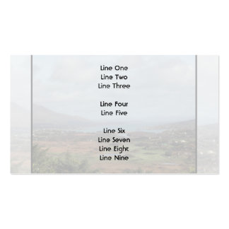 Beara Peninsula Ireland Scenic View Business Card Templates