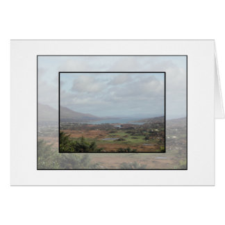 Beara Peninsula, Ireland. Scenic View. Card