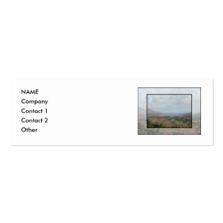 Beara Peninsula, Ireland. Scenic View. Double-Sided Mini Business Cards (Pack Of 20)