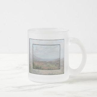 Beara Peninsula, Ireland. Scenic View. Frosted Glass Coffee Mug