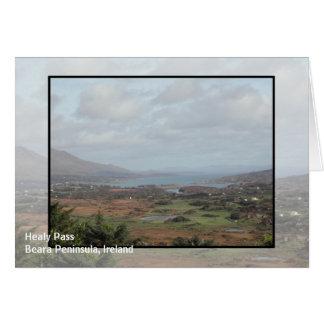 Beara Peninsula, Ireland. Scenic View. Greeting Card