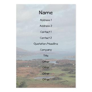 Beara Peninsula, Ireland. Scenic View. Large Business Cards (Pack Of 100)