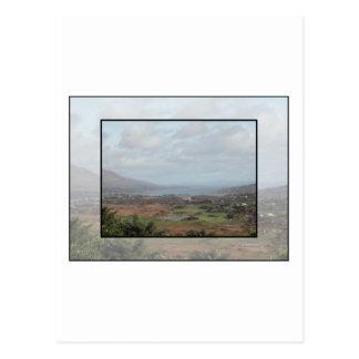 Beara Peninsula, Ireland. Scenic View. Postcard