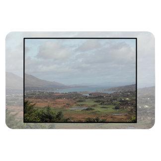 Beara Peninsula, Ireland. Scenic View. Rectangular Magnet