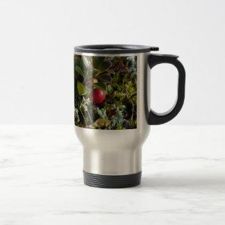 Bearberry, Arctostaphylus uva-ursi Travel Mug