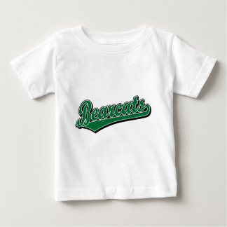 Bearcats script logo in green baby T-Shirt