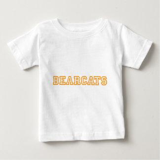 Bearcats square logo in orange shirts