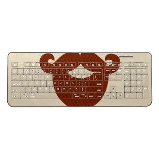 Beard Custom Wireless Keyboard