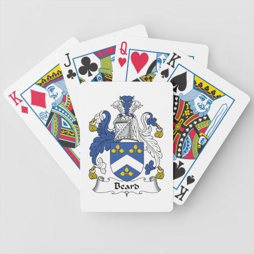 Beard Family Crest Card Deck