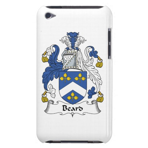 Beard Family Crest iPod Touch Cover