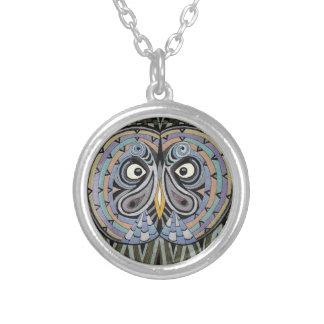Beard fogy necklace/Great Grey Owl