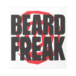 Beard Freak Memo Note Pad