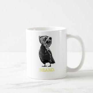 Beard (half bear - half bird) coffee mug