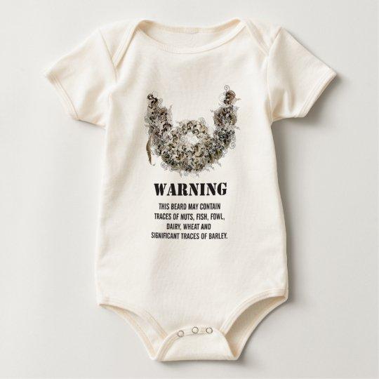 Beard Hazard Baby Bodysuit