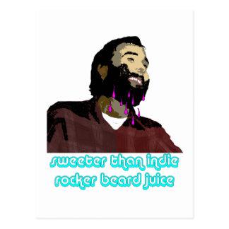 Beard Juice 10 Postcard