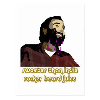 Beard Juice 1 Postcard