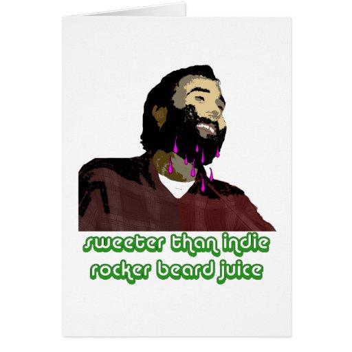 Beard Juice 2 Greeting Cards