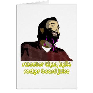 Beard Juice 4 Card