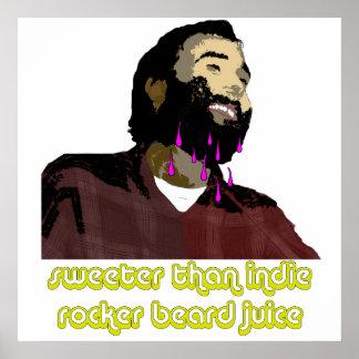 Beard Juice 4 Poster