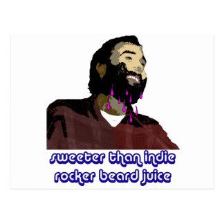 Beard Juice 5 Postcard