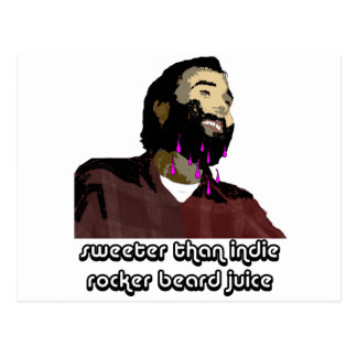Beard Juice 6 Postcard