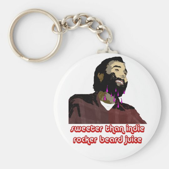Beard Juice 7 Keychain