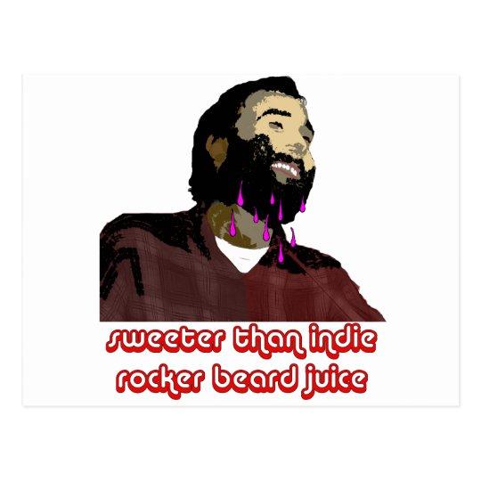 Beard Juice 7 Postcard