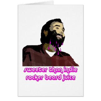 Beard Juice 9 Greeting Card