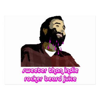 Beard Juice 9 Postcard