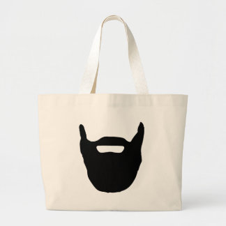Beard Large Tote Bag