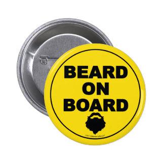 Beard on Board Button