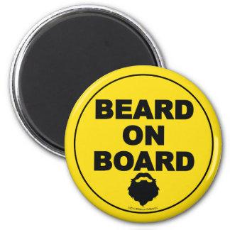 Beard on Board Magnet