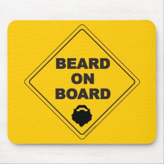 Beard on Board Mousepad