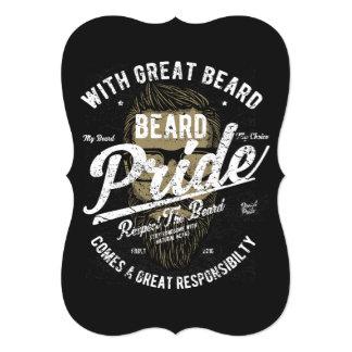 Beard Pride | Great Beard Great Responsibility Card