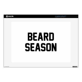 "Beard Season 15"" Laptop Decal"