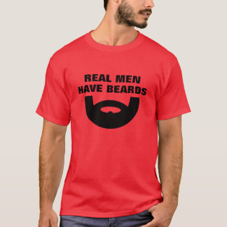 Beard t shirt | Real men have beards