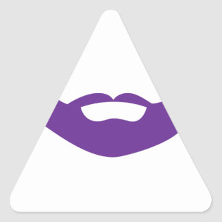 Beard Triangle Sticker