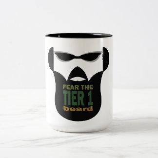 Beard War Two-Tone Mug