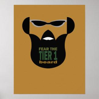 Beard War Poster
