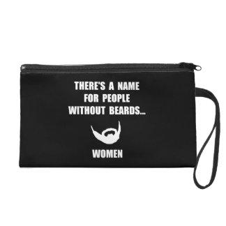 Beard Women Wristlet Purse