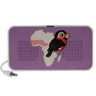 Bearded Barbet Range Travel Speaker
